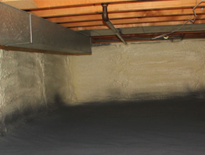 crawl space spray insulation for Arizona
